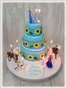 FROZEN FEVER CAKES Google Search Cs 5th Party Pinterest