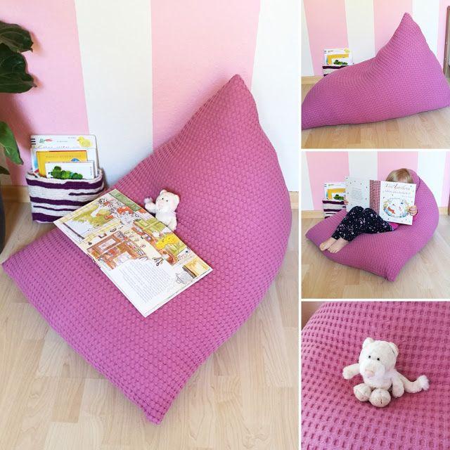 DIY Sitzsack Für Kinder