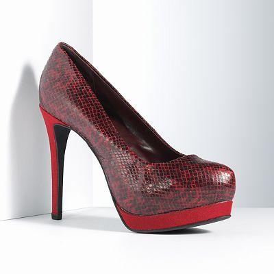 Love these shoes! Simply Vera Vera Wang Platform High Heels - Women
