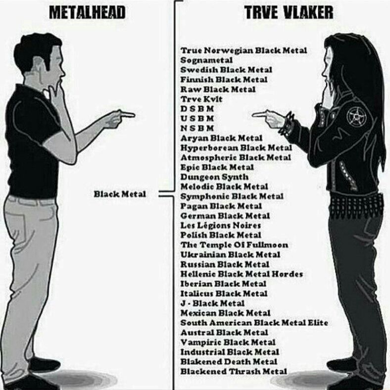 """Black Metal Memes on Instagram: """"Its not just black metal"""""""