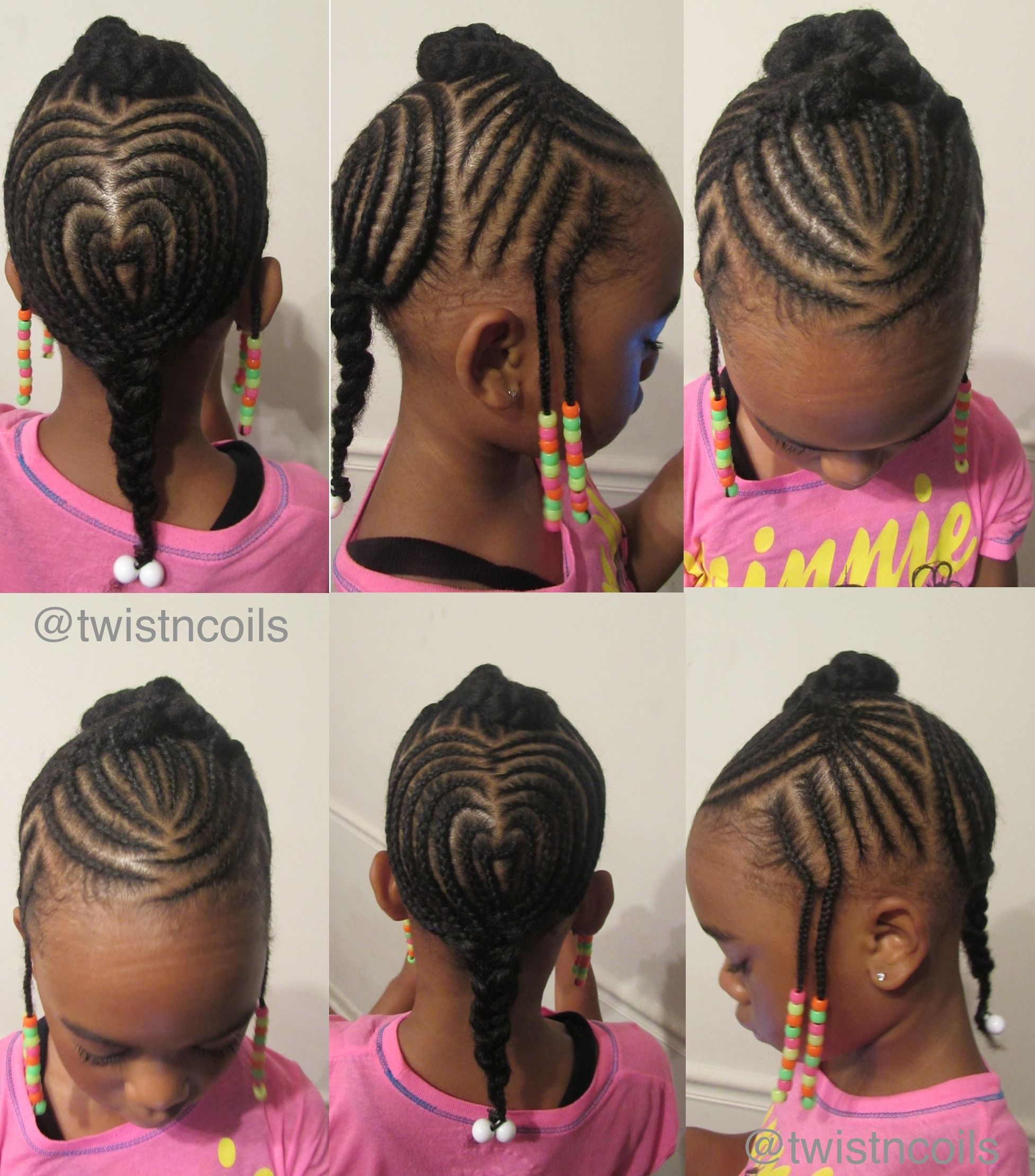 Braided Heart Design For Children Tnc With Images Kids