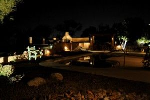 Our business does night lighting.  It makes such a big difference!