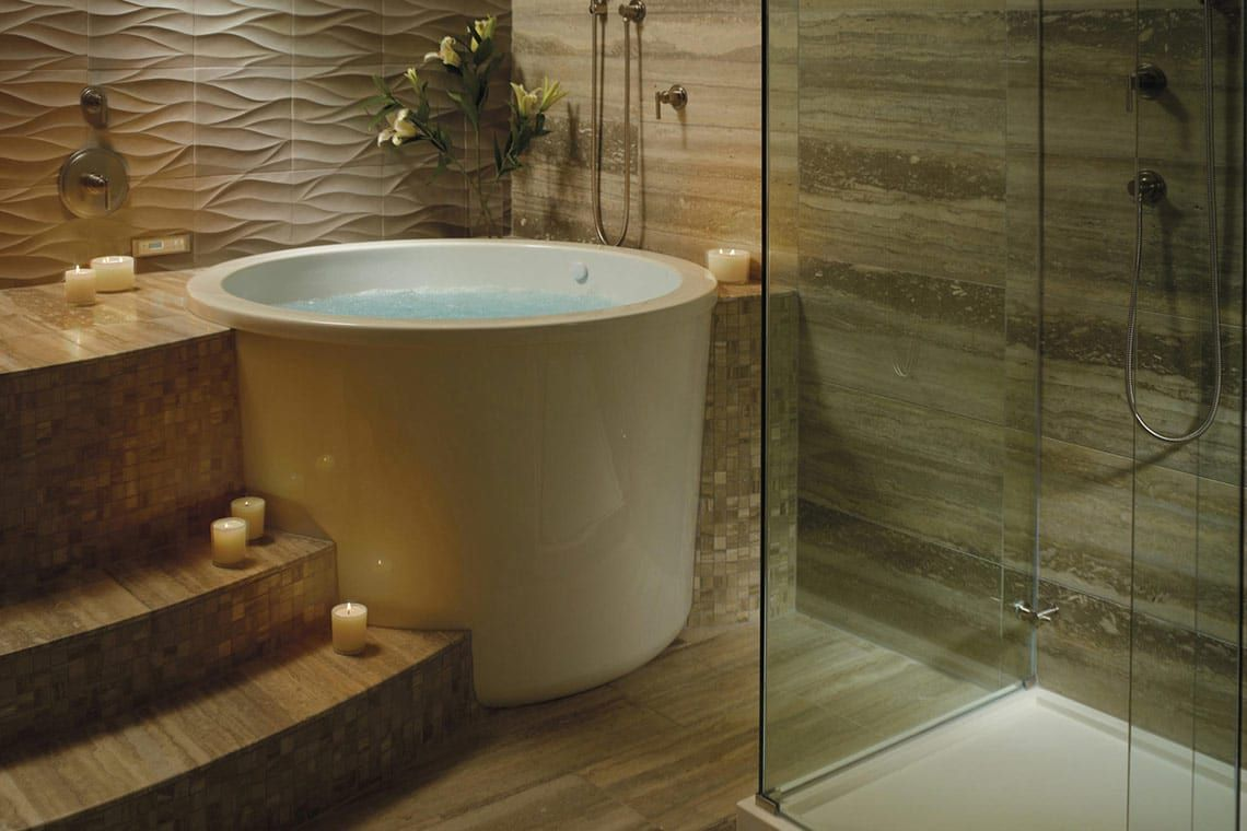 Compact Comfort: The Japanese Tub | Tubs, Compact and Japanese