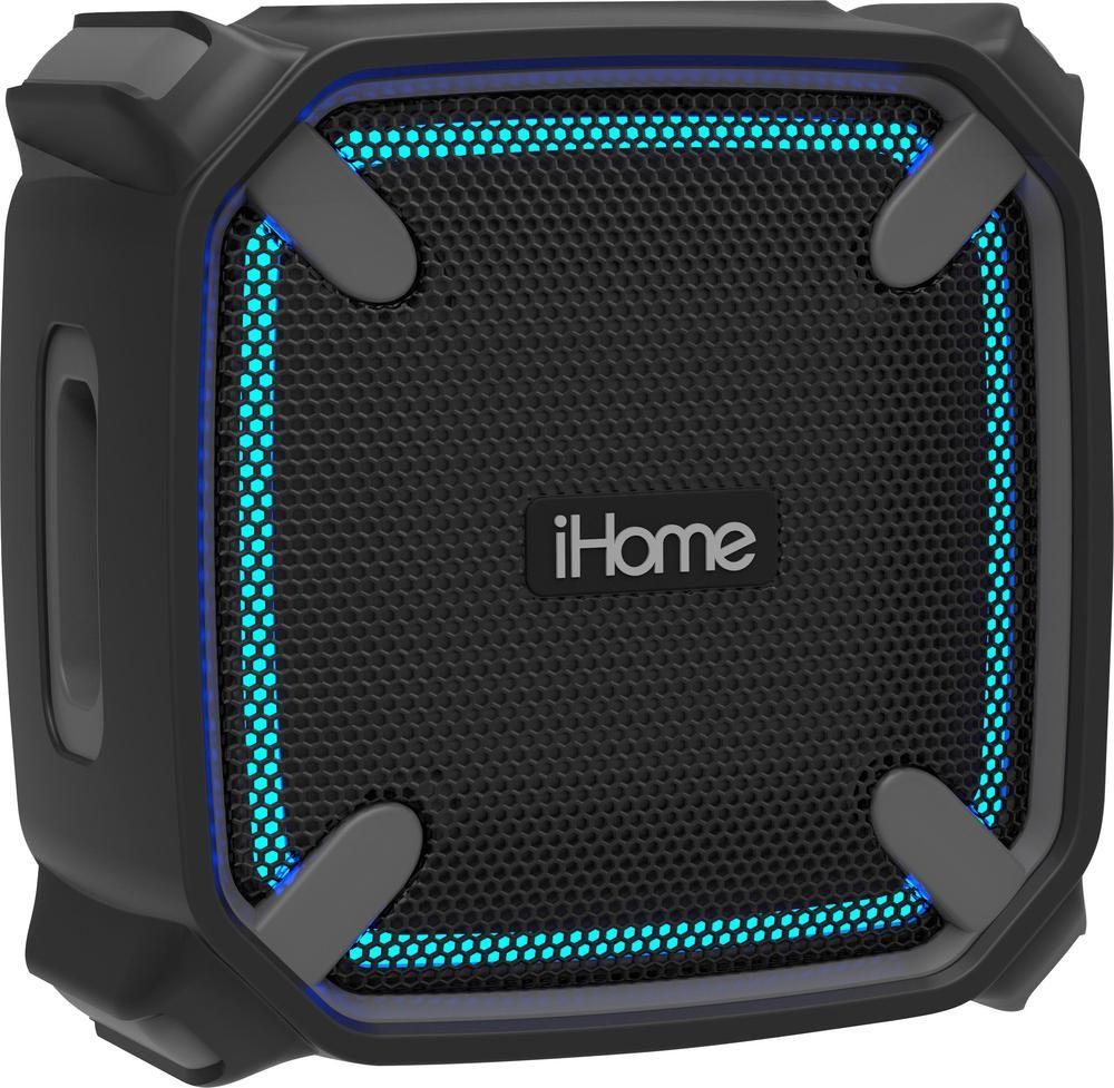 Weather Tough 4 Portable Bluetooth Speaker Gray//Black iHome