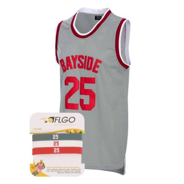 ad0c11b43eb3  Zack  Morris 25  Bayside Tigers  Basketball jersey  jersey  movie jerseys   aflgo  party jersey  sports apparel  freeshipping