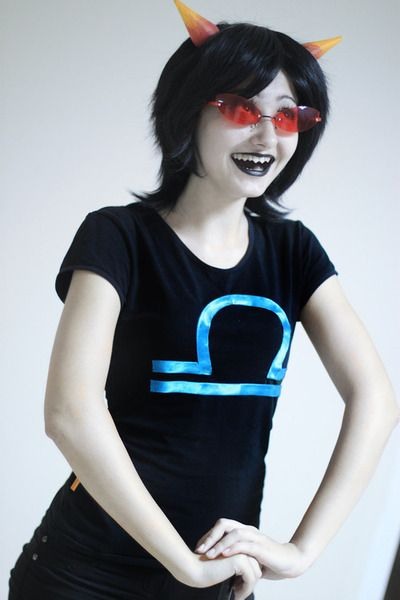 Terezi Pyrope cosplay Homestuck sweethobgoblin.tumblr.com