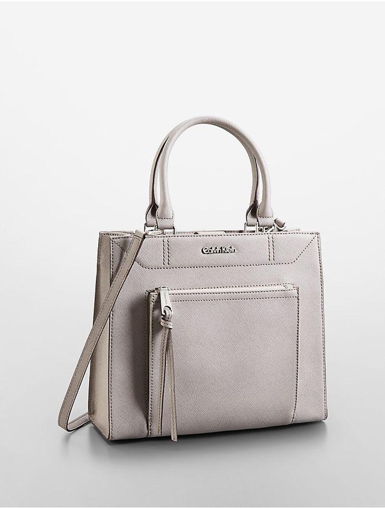6bb4b9f4602 calvin klein womens saffiano leather small tote bag #CalvinKlein  #TotesShoppers