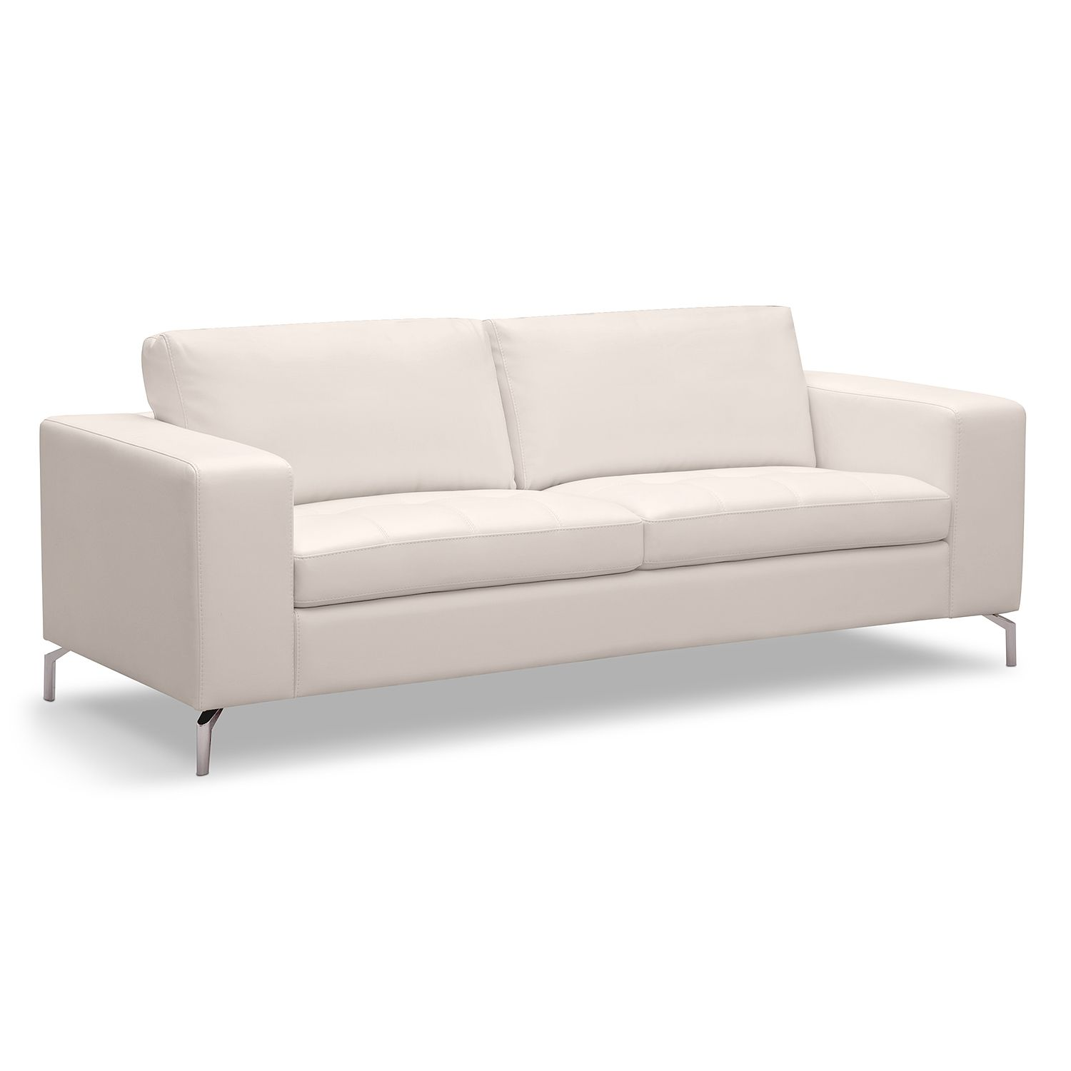 Casino Leather Sofa American Signature Furniture Main Living
