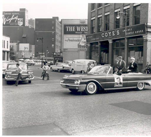 John F Kennedy In Grand Rapids October 14 1960 In 2019