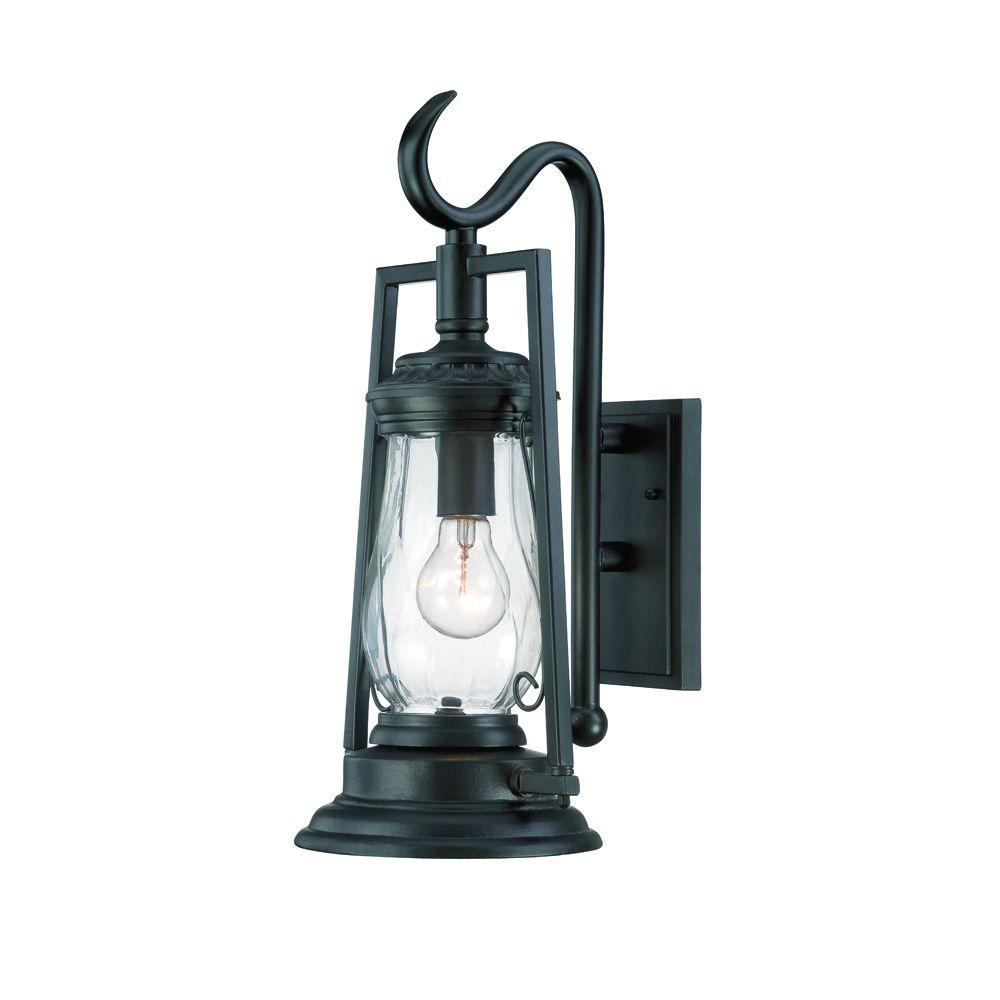 Acclaim Lighting Kero Collection 1 Light Matte Black Outdoor Wall Lantern Sconce 3492bk Outdoor Wall Mounted Lighting Wall Mount Light Fixture Outdoor Light Fixtures