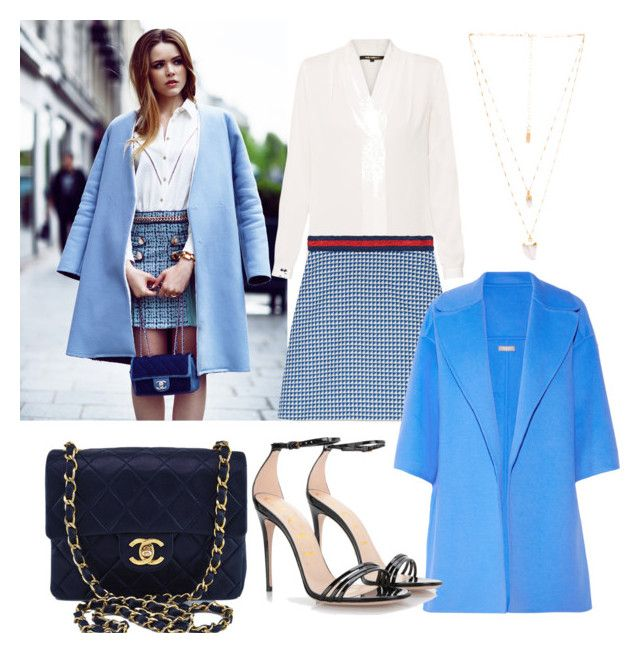 """""""CAME TO SEE YOU"""" by newsquad ❤ liked on Polyvore featuring Kobi Halperin, Gucci, Chanel, Michael Kors and Natalie B"""