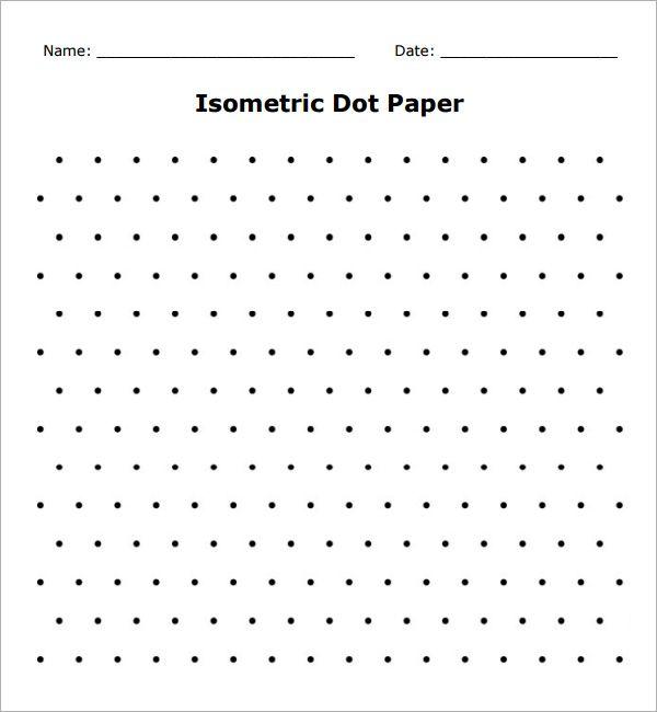 isometric dot paper sheet Teaching Pinterest Curriculum - isometric graph paper