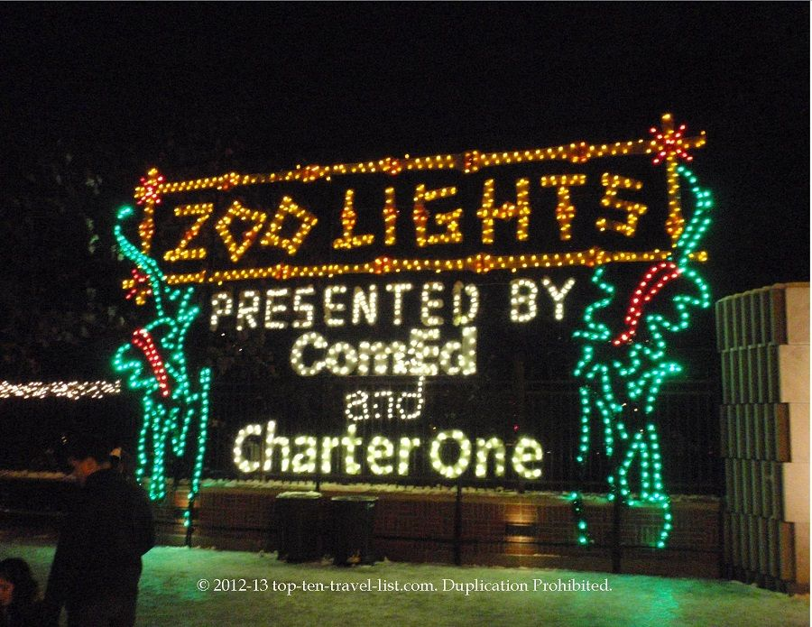 Lincoln park zoo a colorful zoolights extravaganza like