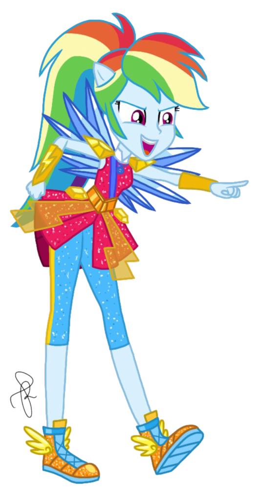 1596930 Alternate Hairstyle Artist Ilaria122 Clothes Crystal Wings Equestria Girls Female Rainbow Dash My Little Pony Characters My Little Pony Drawing