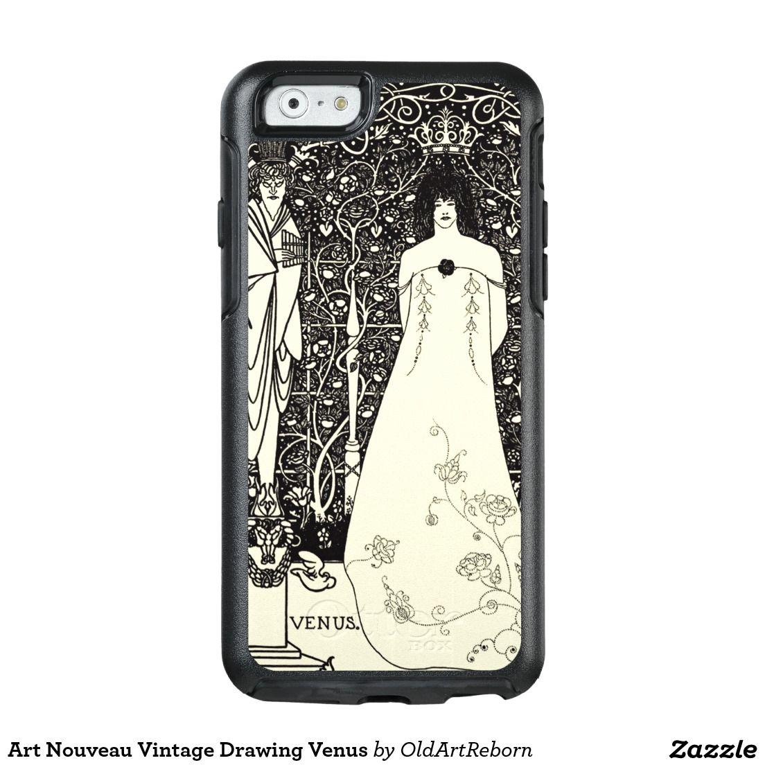 Art Nouveau Vintage Drawing Venus OtterBox iPhone 6/6s Case