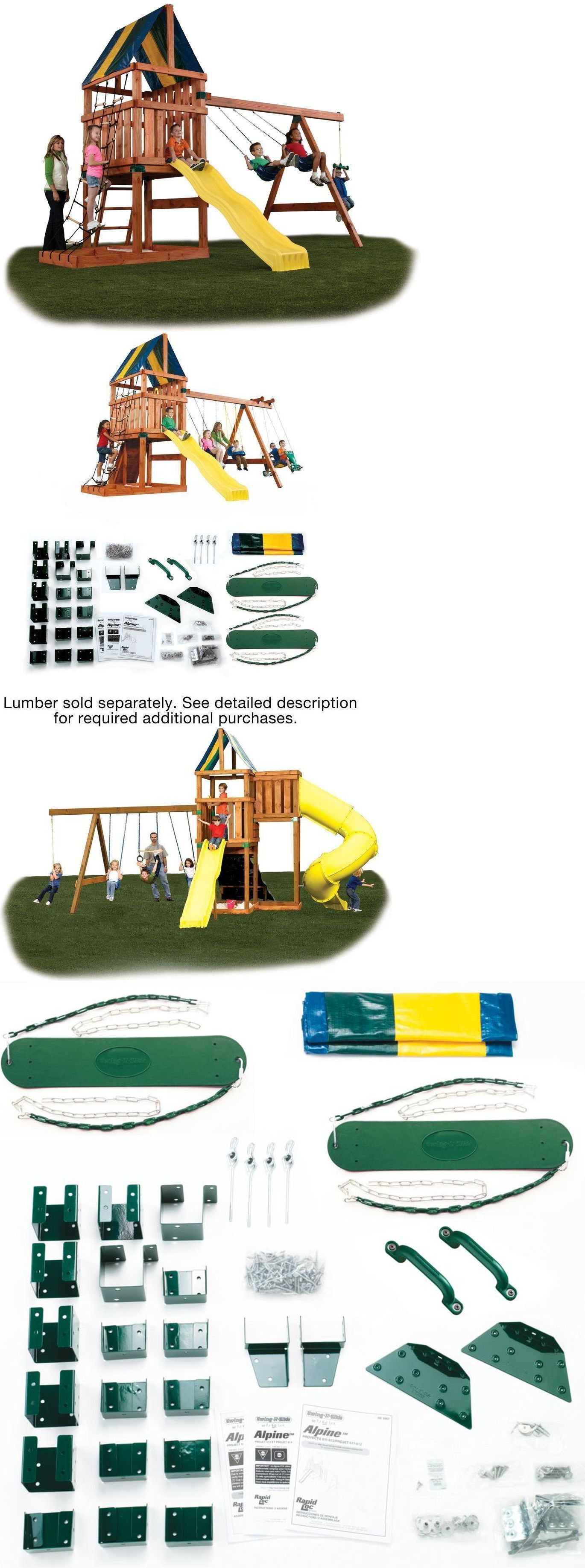 swings slides and gyms 16515 playground equipment sets for