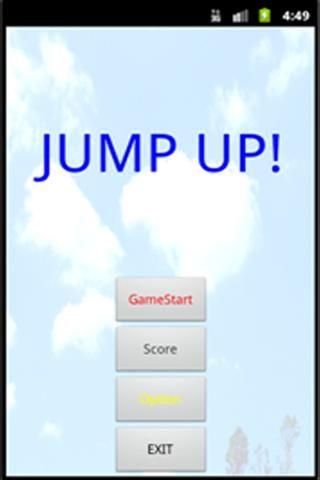 투 버튼 게임으로 좌우로만 이동하여 내려오는 구름을 밟고 올라가는 게임으로 간단하게 즐길 수 있는 게임을 만들었다.<br>투 버튼을 이용한 간단한 게임<br>일정 시간 후 내려오는 구름의 속도 등가<br>시간 측정으로 기록 가능  http://Mobogenie.com