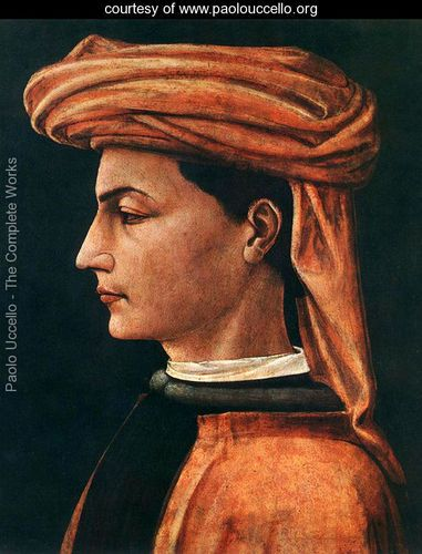 Paolo Uccello, Portrait of a Young Man (1450s)