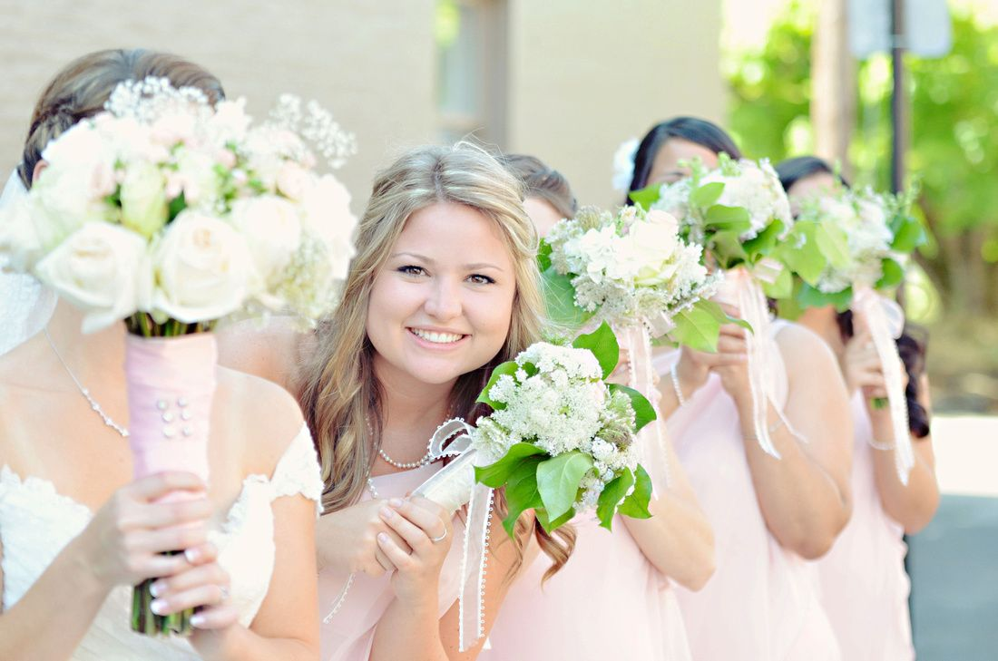 Bridesmaids at a Wedding in Albany, Oregon :)  Visit us online @ www.TreeFrog-Photography.com