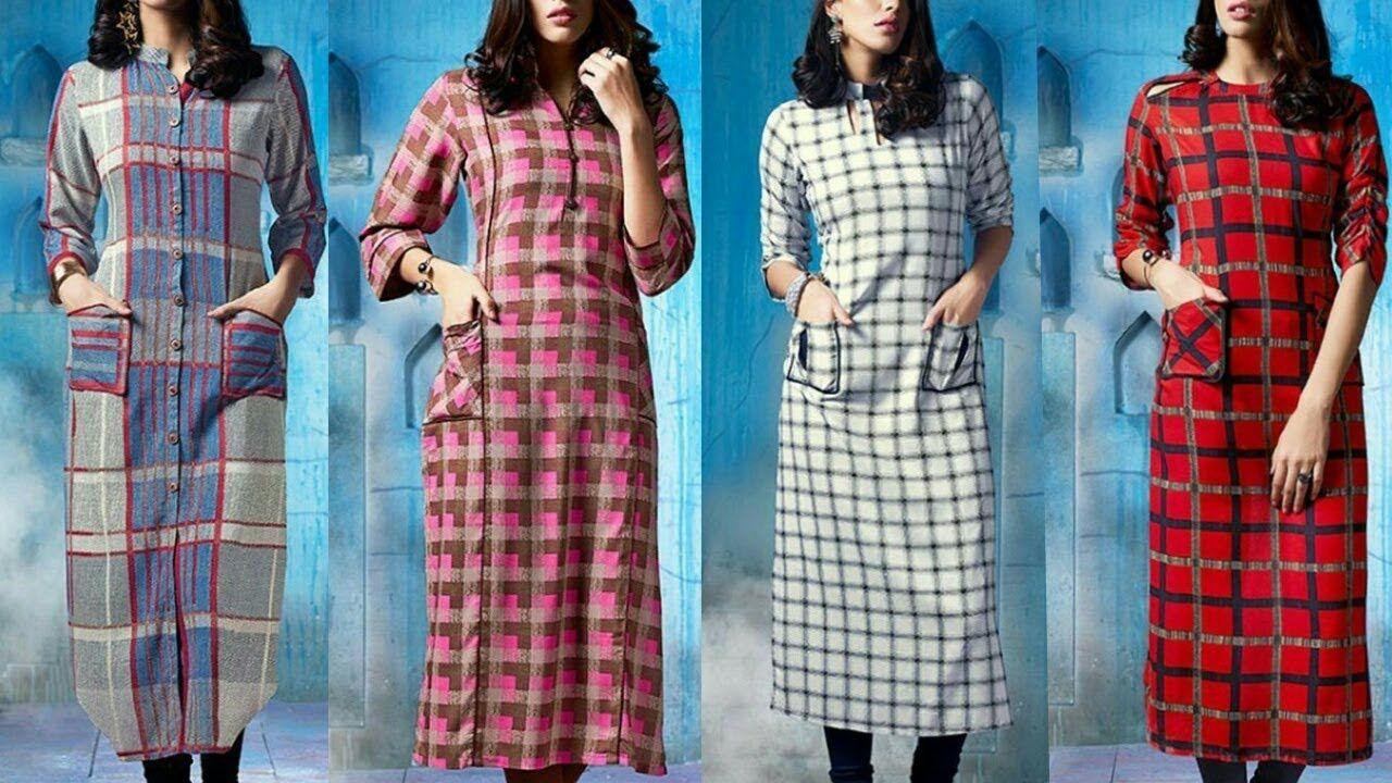 58b60bd4 Simple chex kurti designs ll chex kurti designs - News Politics ...
