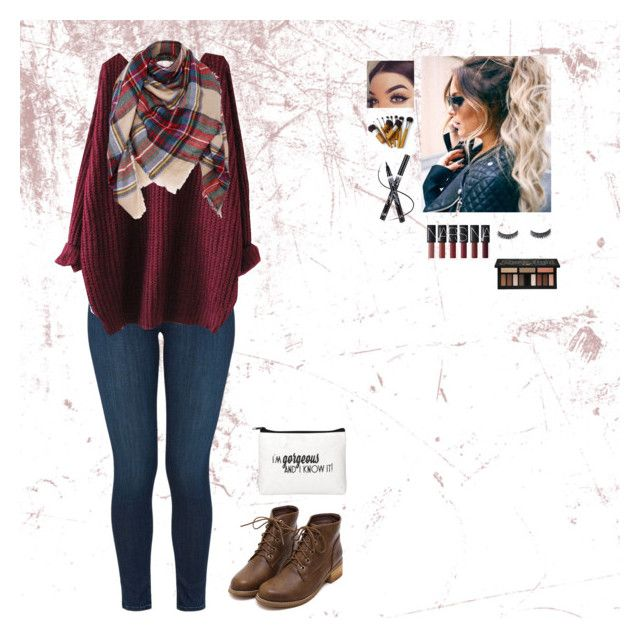 Warm for the Winter by qween-jackie720 on Polyvore featuring polyvore, fashion, style, J Brand, Kat Von D and clothing