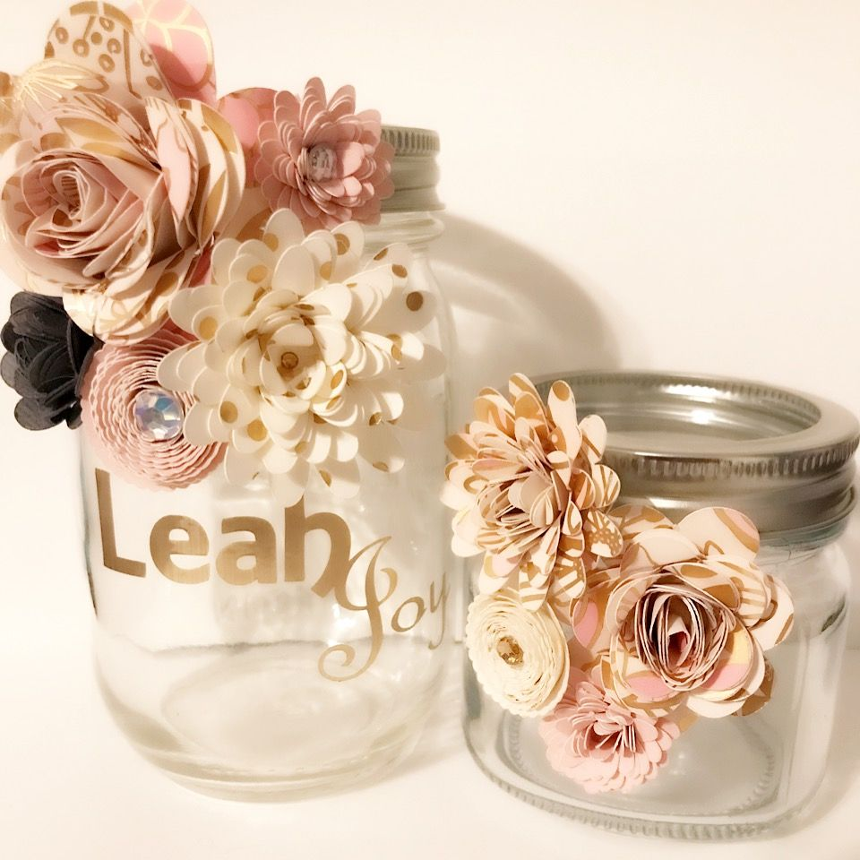 Pin By Parisa Reyna On Paper Flower Jars Paper Flower Decor