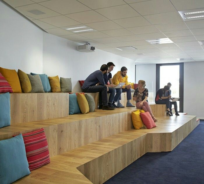 Interior Design Homeoffice: Pin By Plan B Architects On Collaboration Areas