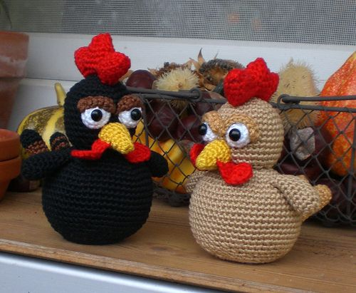 89 Best Crocheted Chickens images   Crochet chicken, Crochet, Pattern   411x500
