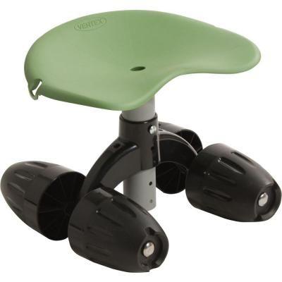Vertex Garden Rocker Rolling Seat Gb1300 Black Garden Wooden