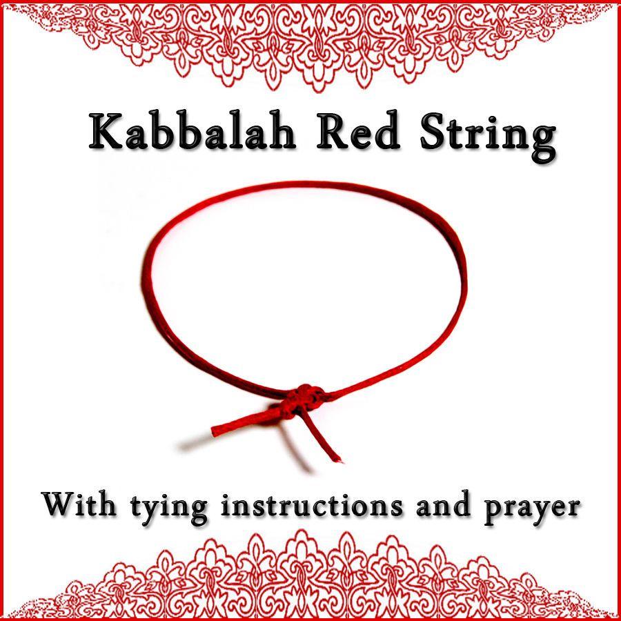 Kabbalah Red String Bracelet For Luck Protection Ben Porat Prayer Instruction