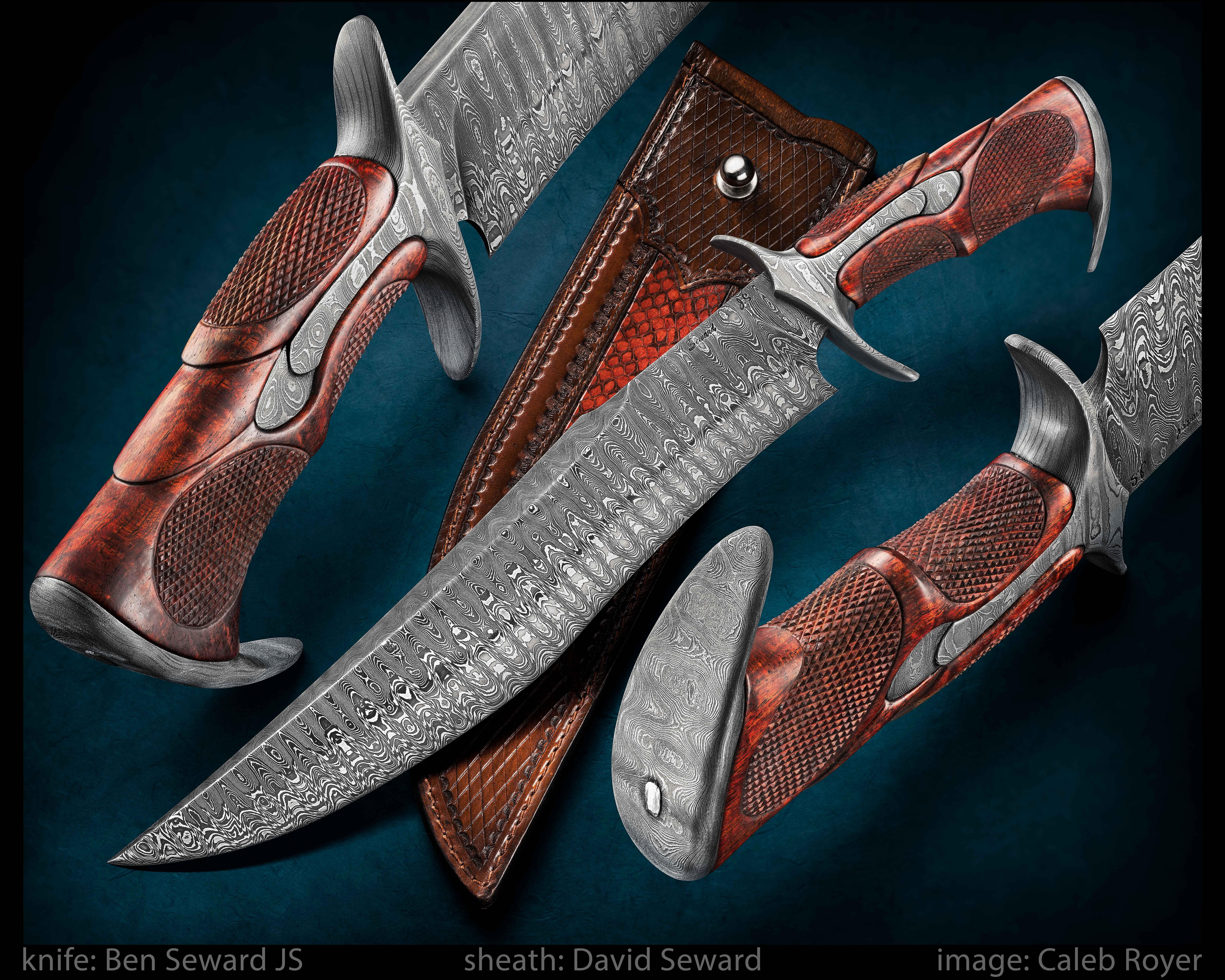 pleasant cool knives. Ben Seward Knives creates beautiful custom hand forged knives for all  purposes Pin by Paavo Aalto on Miekat puukot veitset Pinterest