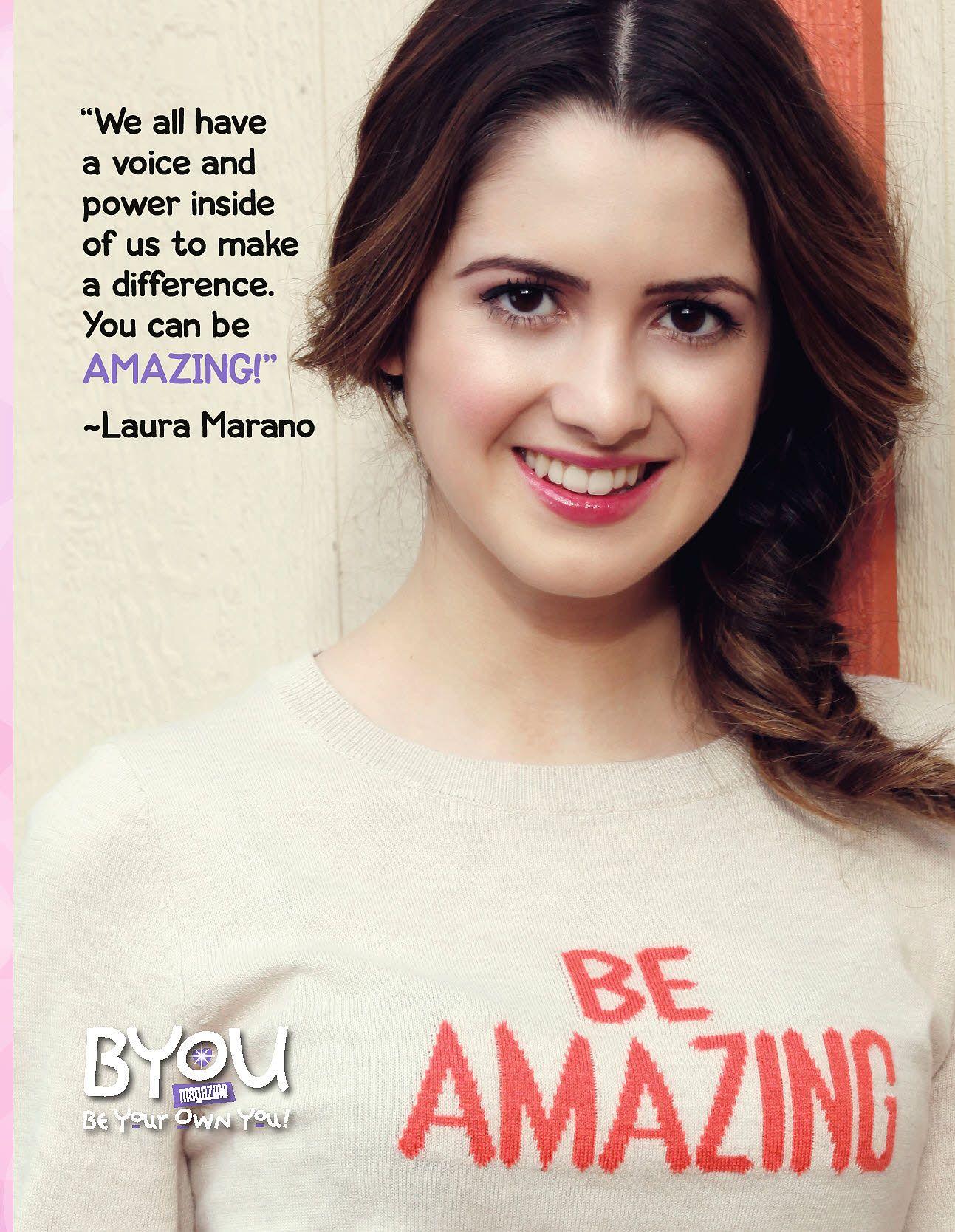 laura marano for byou magazine