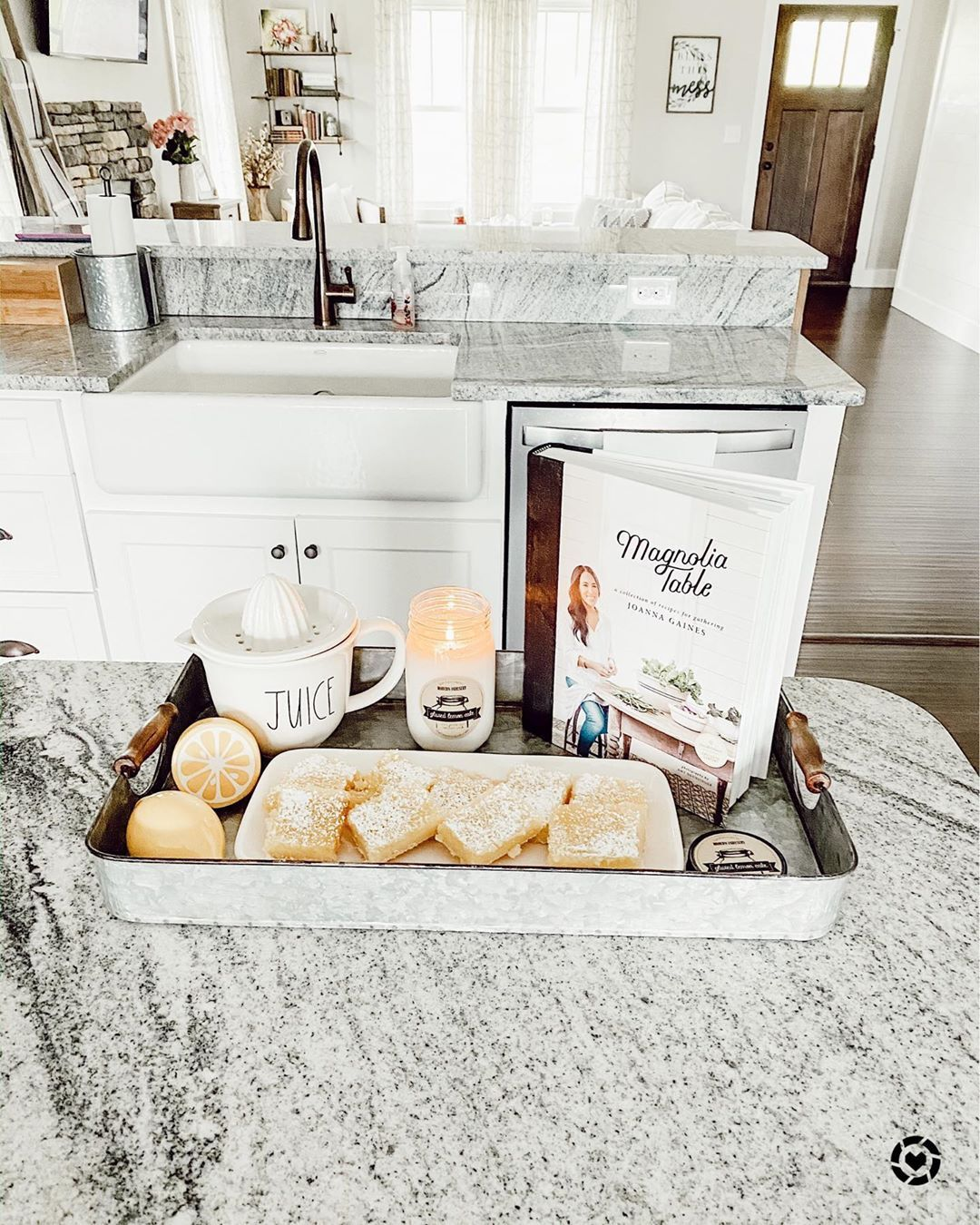 Modern Farmhouse Decor Charity On Instagram I Need The New Magnolia Table Cookbook Because I Keep Making Recipes Fro Lemon Bars Easter Dessert Magnolia Table