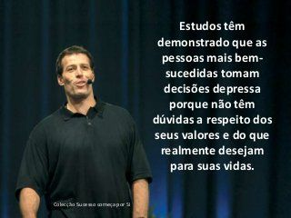 Anthony Robbins - Frases de Sucesso