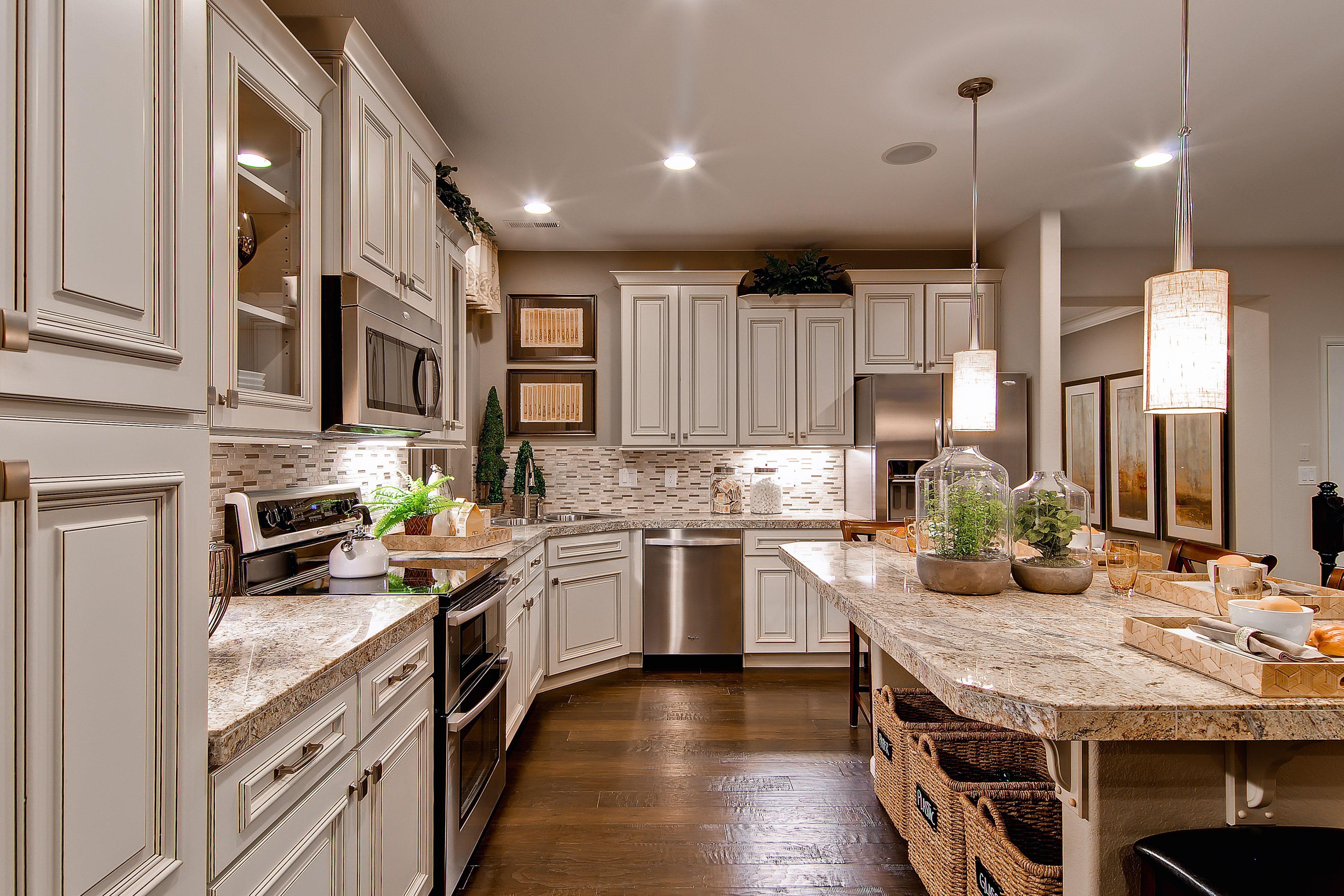 Cypress Kitchen Oakwood homes, Home design decor, New