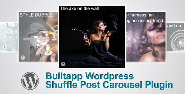 Builtapp Shuffle Post Carousel Plugin Wordpress plugins