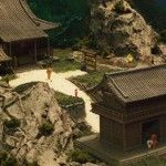 A good looking model train layout that is Japan themed with intricate details and high quality photographs.