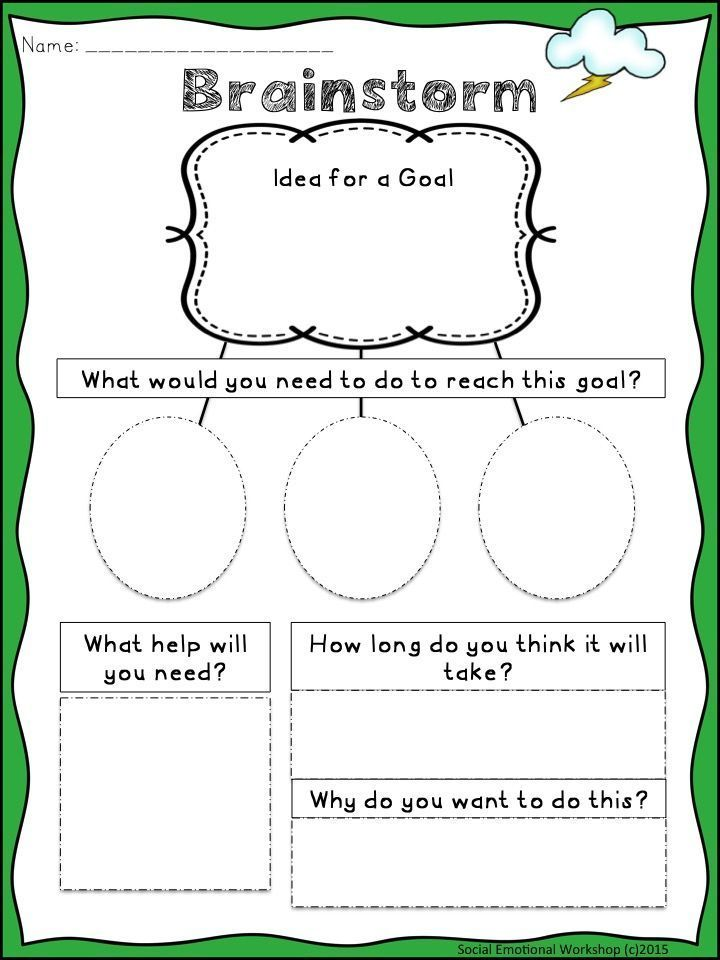 SMART Goals: Activities to Set Goals, Monitor, and Reflect ...
