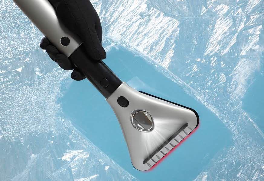Heated Ice Scraper @ Sharper Image
