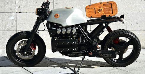Inazuma café racer: K100 by WOB