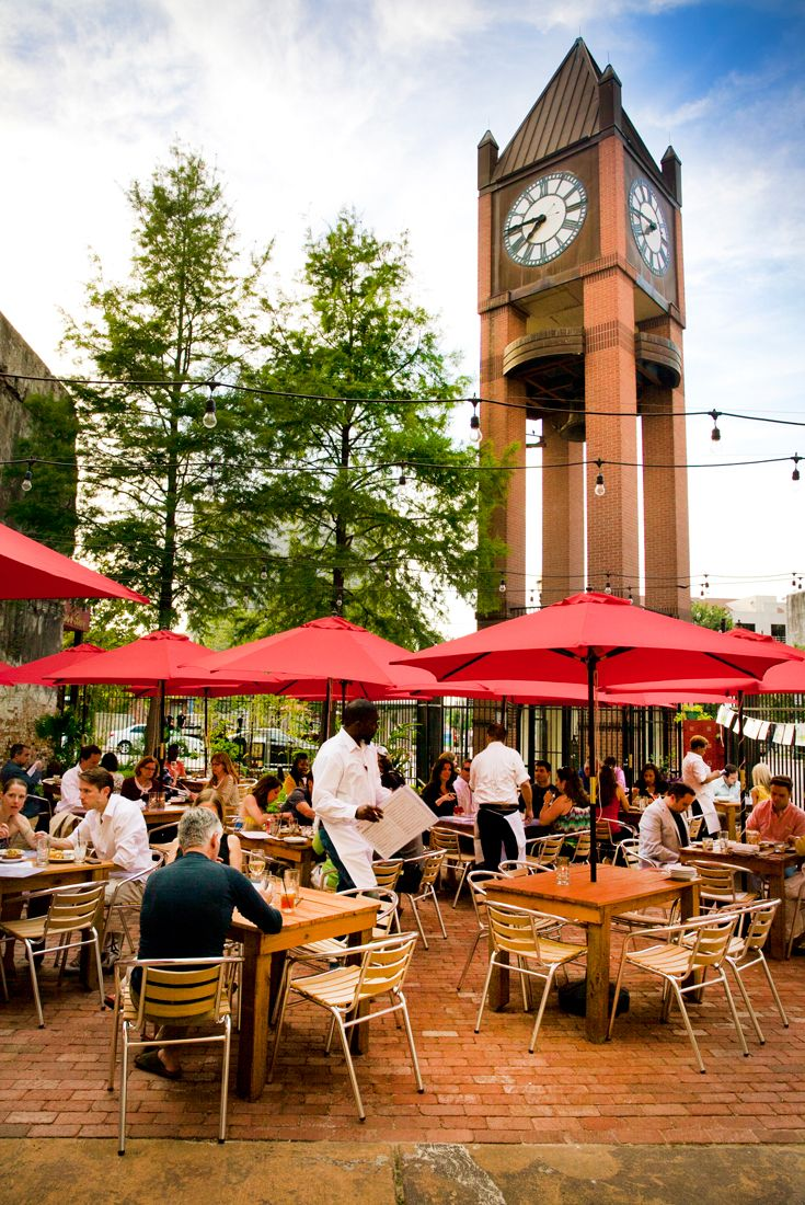 Sit On The Ious Patio For An Awesome Outdoor Dining Experience Downtownhouston Food