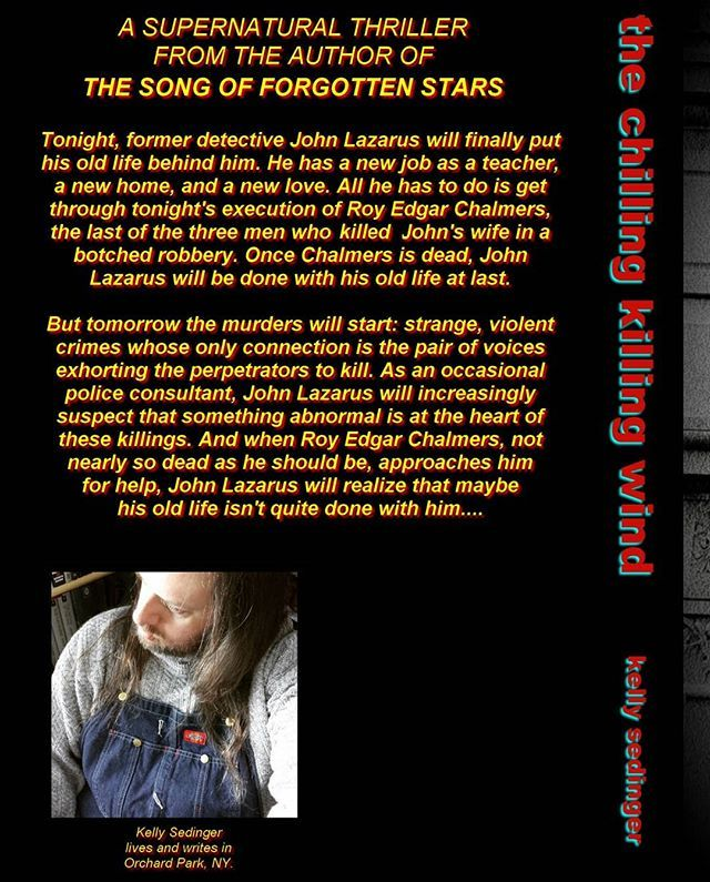 The Back Cover Copy Of The Chilling Killing Wind My New