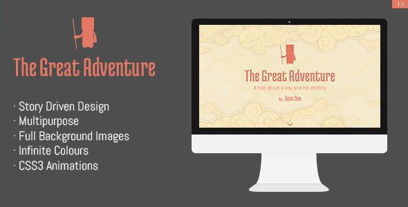 Review The Great Adventure- Full screen responsive themeThis site is will advise you where to buy