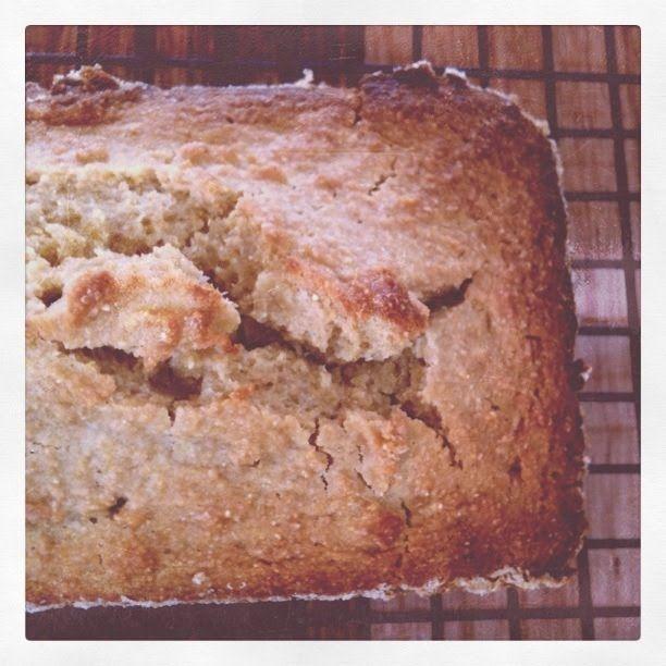 Polenta, Almond & Honey Loaf – Apples Under My Bed