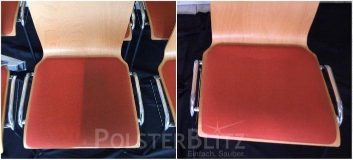 Polsterreinigung An Stühlen Reinigen Polster Reinigen