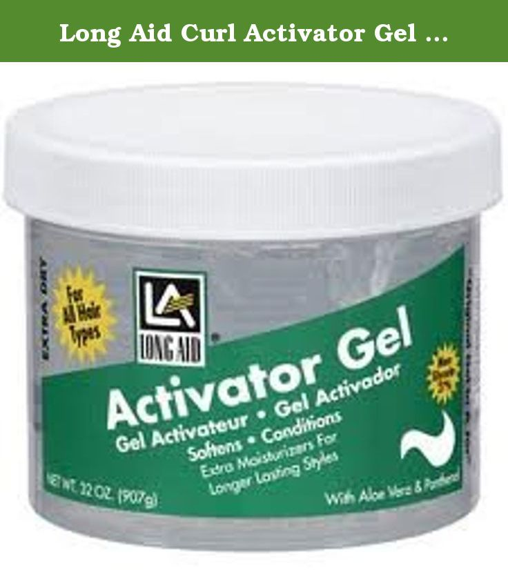 Long Aid Curl Activator Gel for extra dry hair Size: 11oz. Long ...
