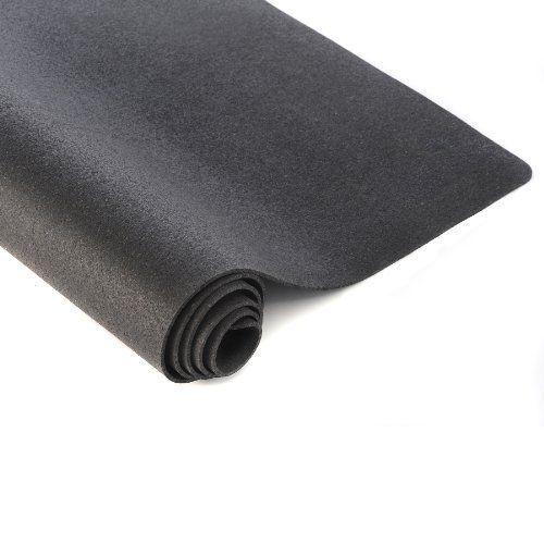 Home Fitness Exercise Mat Gym Rubber Workout Carpet Hard