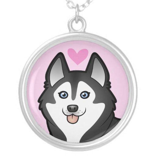 Siberian Husky / Alaskan Malamute Love Pendants | Alaskan klee kai ...