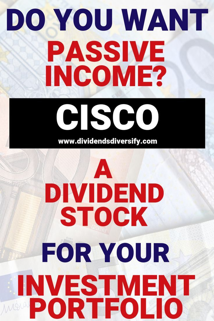 Cisco Dividend nice combination of yield and growth