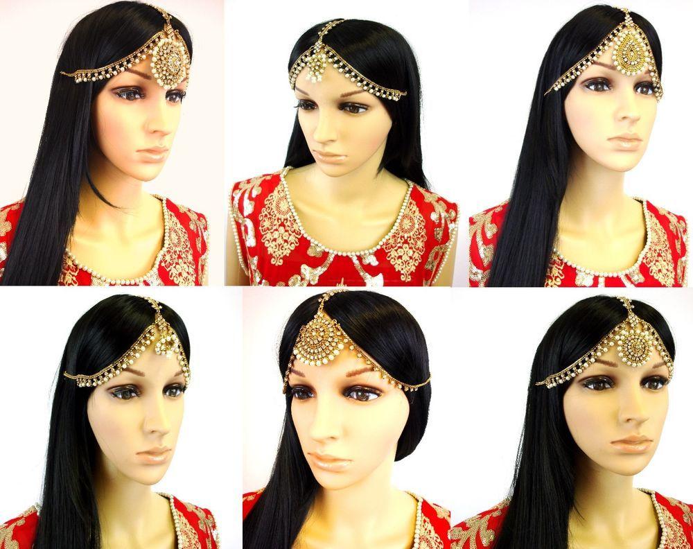 Mehndi Bridal With Matha Patti : Latest pakistani matha patti pearl stone indian maang tikka bridal
